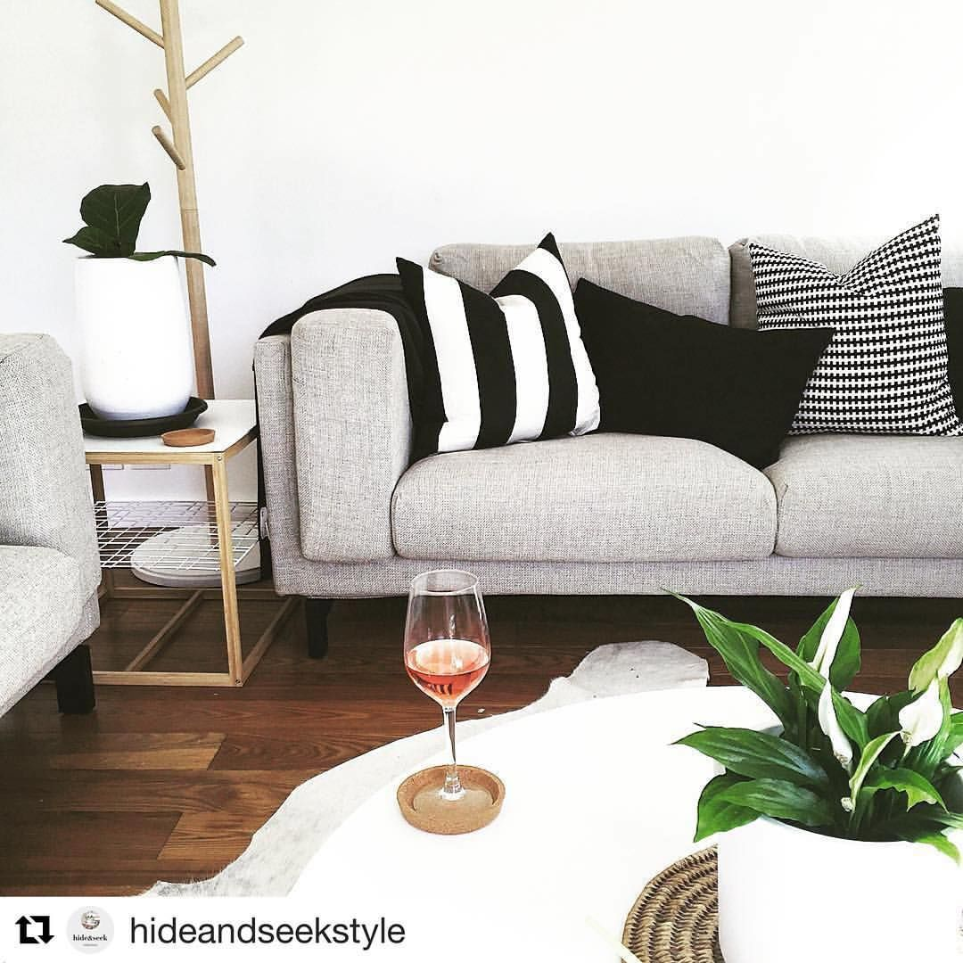 Double Tap If You Love This Cool Contemporary Living Room Thanks For Sharing A Picture Of Your IKEA NOCKEBY Sofa Hideandseekstyle IKEAUSA