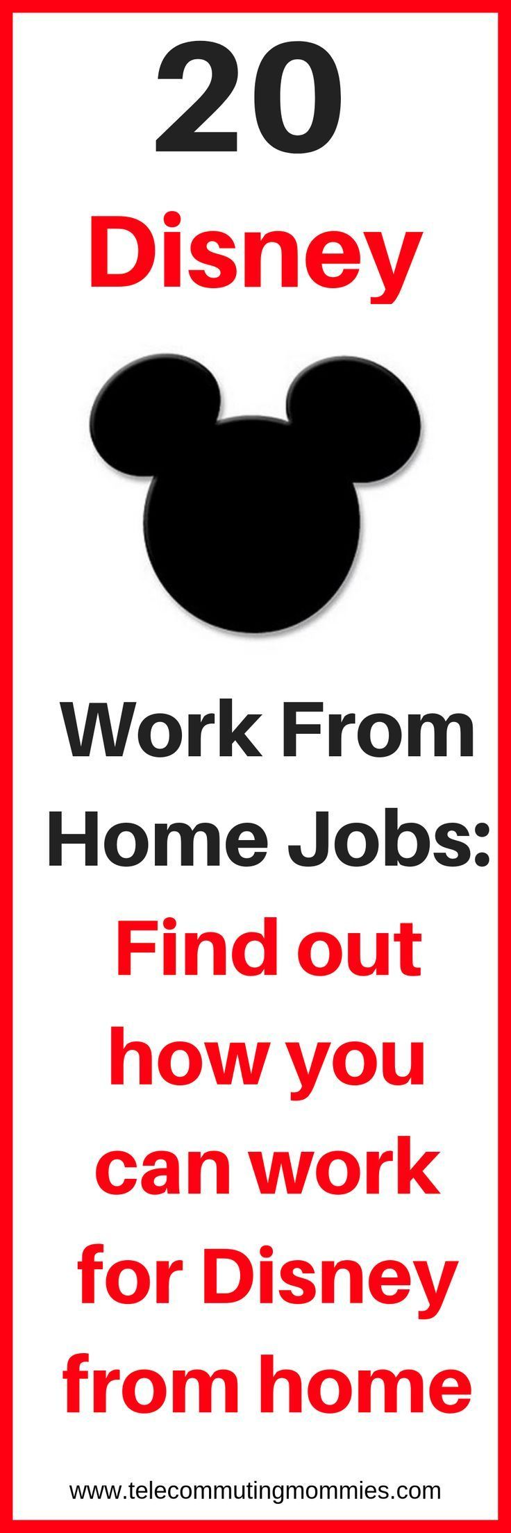 How to Work For Disney From Home: 25 Disney Work From Home Jobs