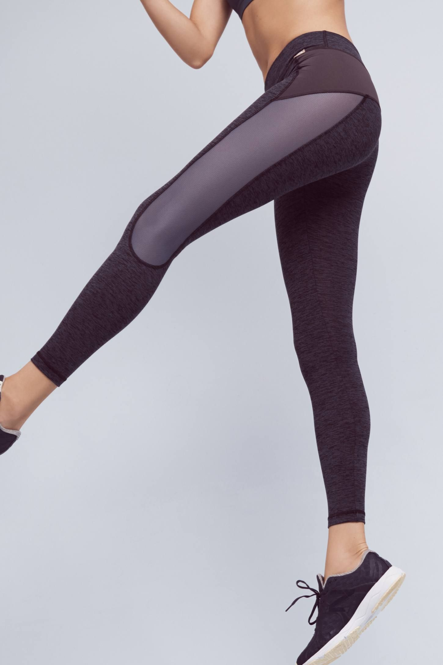 Charcoal Marl XCurvate Leggings Lounge wear, Workout