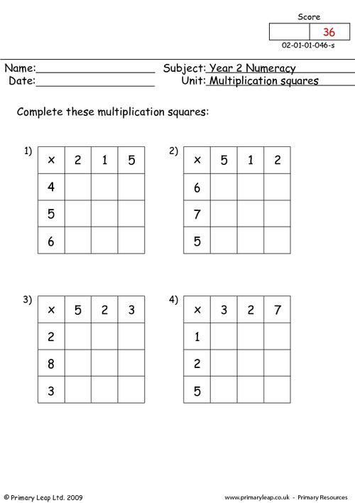 multiplication.code.worksheets - | homeschool ...