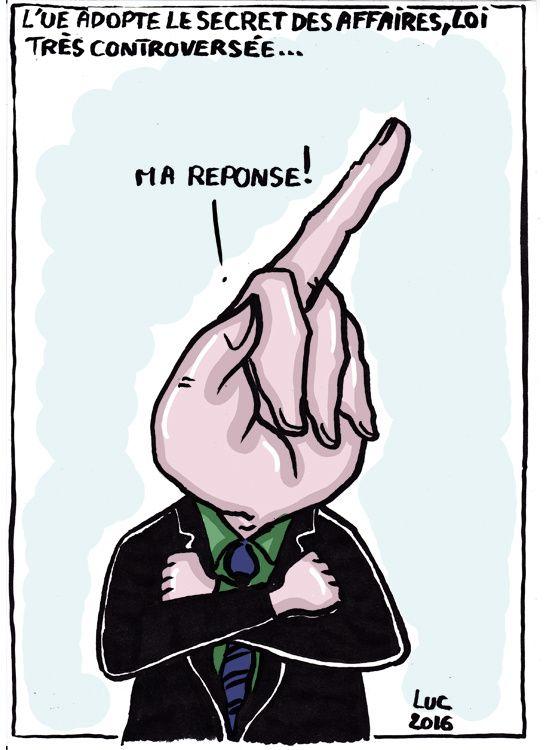 #secret #affaires #grospouf #loi #foutagedegueule #UE #Financiers #truandenliberte