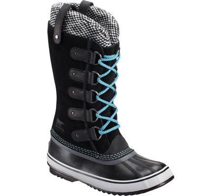 Sorel Joan Of Arctic™ Knit Boot - Black - FREE Shipping & Returns | Shoebuy.com