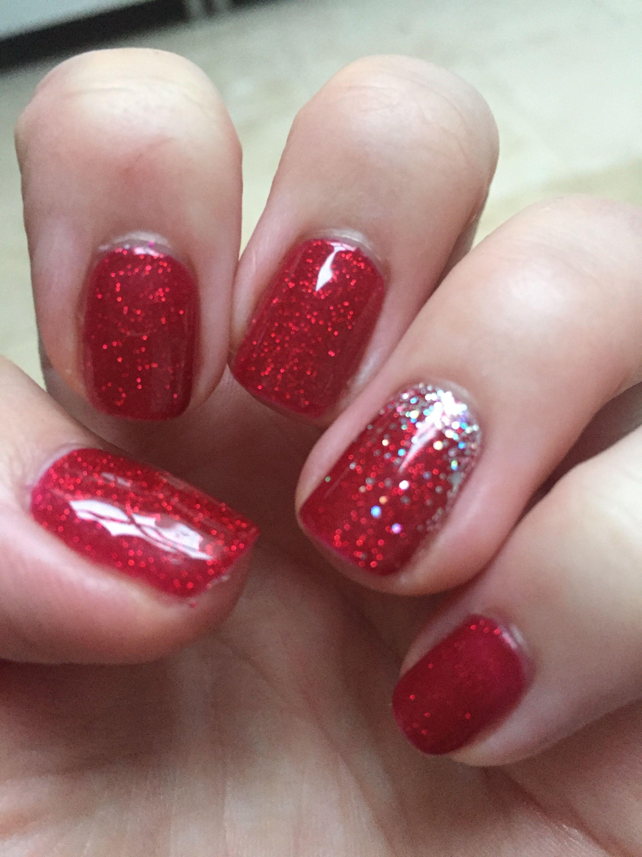 Christmas Nails Shellac Red Shellac Nails Holiday Nails Shellac Designs