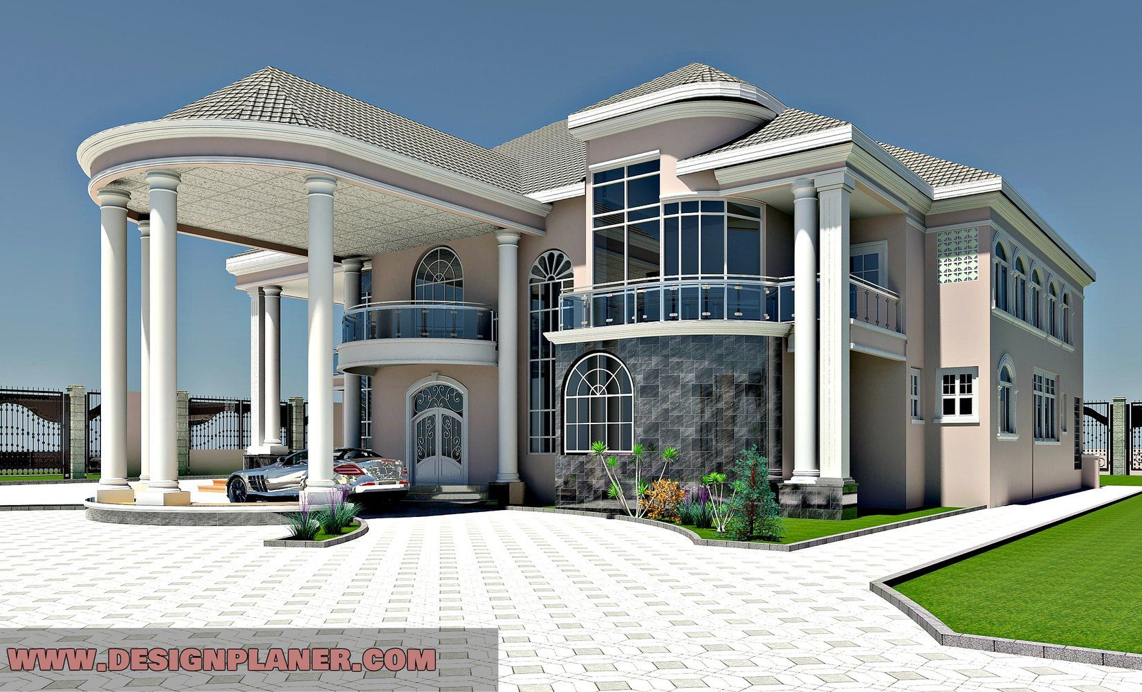 5 Bedroom House Classic House Design Luxury House Designs Duplex House Design