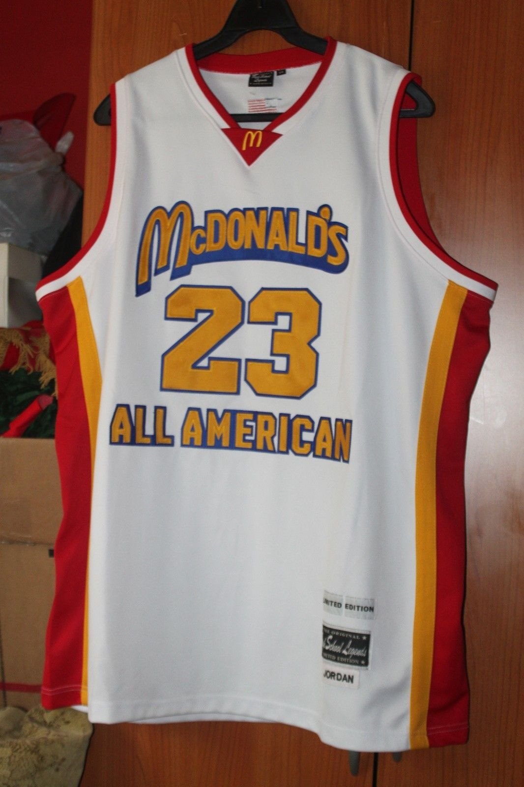 the latest 37dc6 f2ad7 Michael Jordan McDonald's All American Rare Limited Edition ...