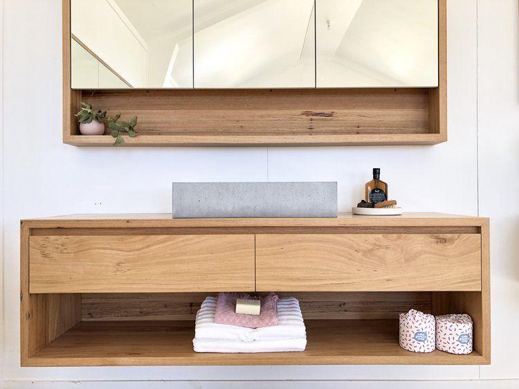 Wall Hung Timber Vanities With Shelf Timber Vanity Wooden Bathroom Vanity Timber Bathroom Vanities