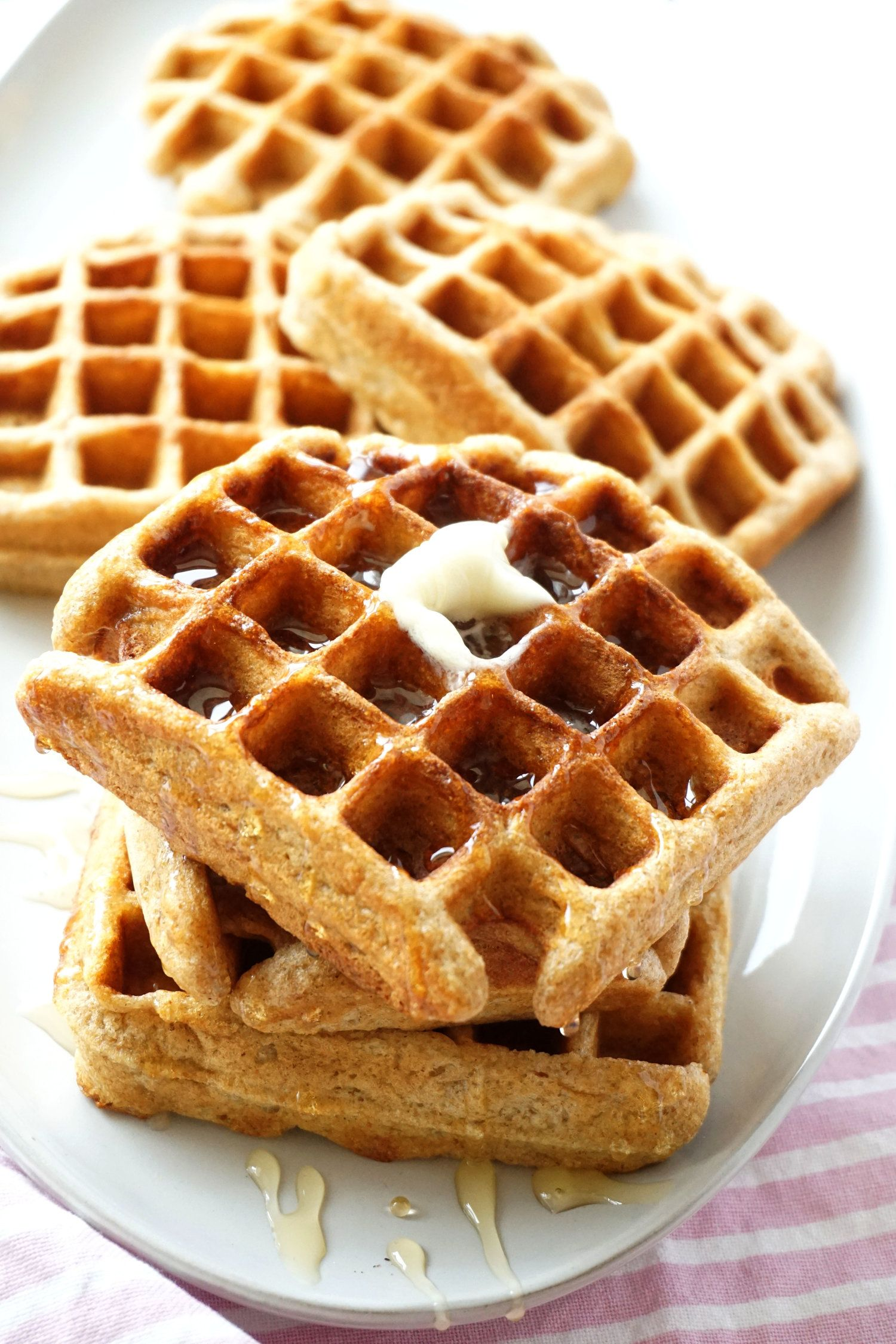 Classic Whole Wheat Buttermilk Waffles Hungry Haley Buttermilk Waffles Buttermilk Waffles Recipe Waffle Recipes