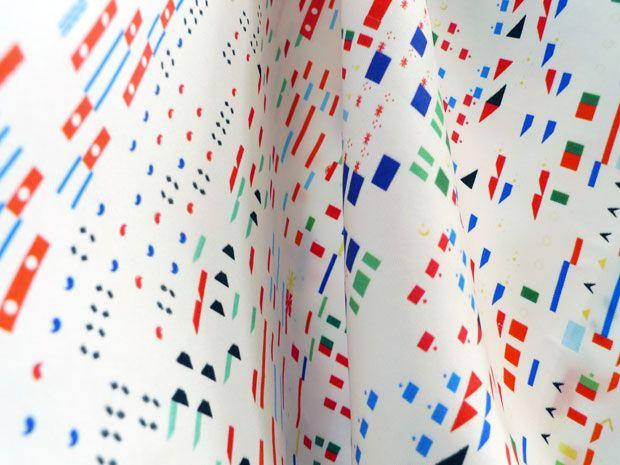 The Daily Pattern -  Zara Atelj - patterns based on information