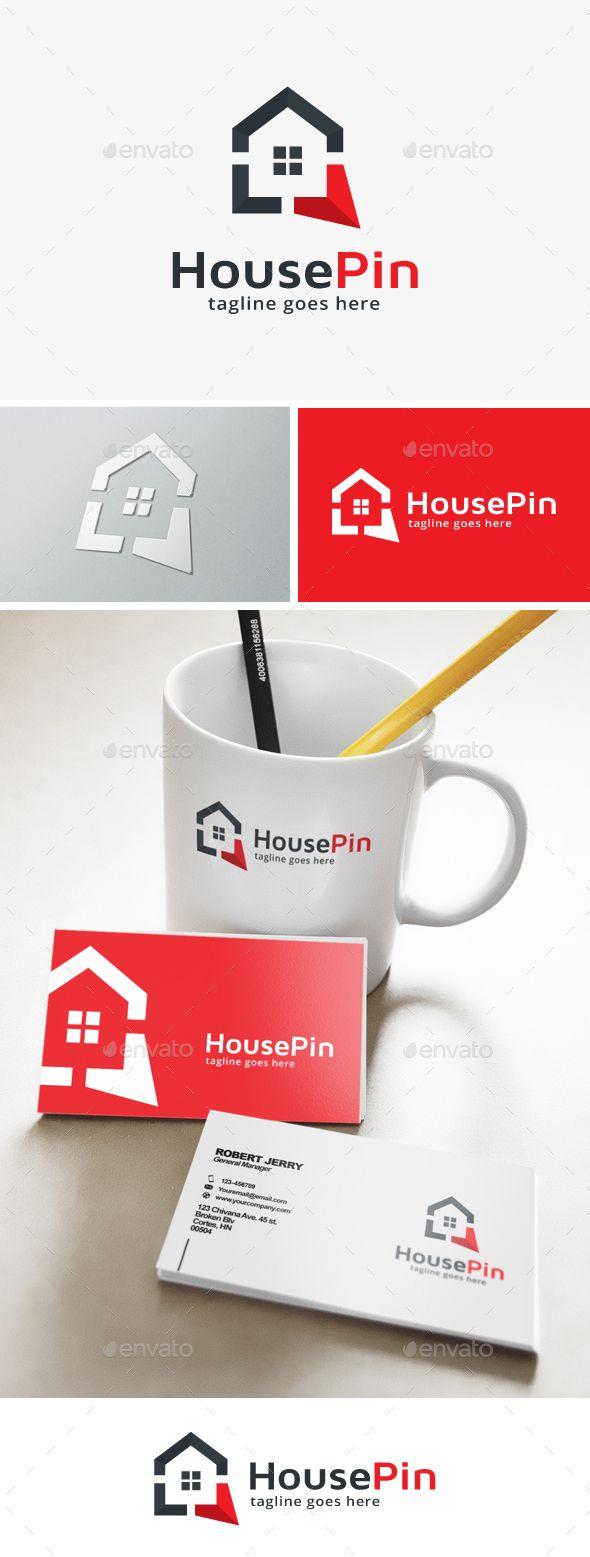 House Point Logo Template #design #logotype Download: http://graphicriver.net/item/house-point-logo/13740120?ref=ksioks