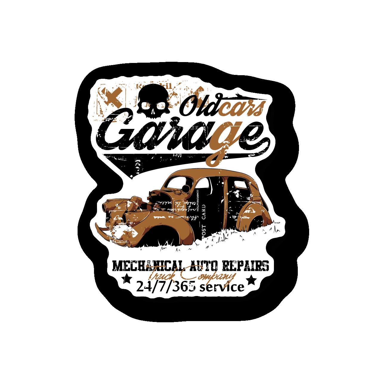 Tsd Cold Car Garage Vinyl Stickers Gloss Stickers Fun Stickers Car Stickers Car Garage [ 1250 x 1250 Pixel ]