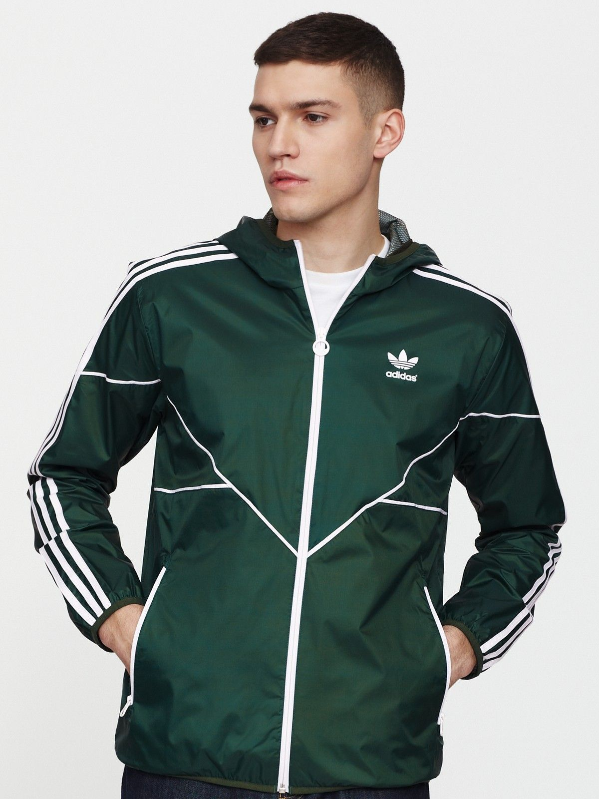 adidas Originals Mens Windbreaker Jacket | Very.co.uk | Ropa