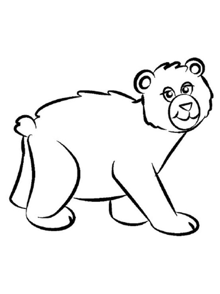 Easy Polar Bear Coloring Pages The Following Is Our Bear Coloring Page Collection You Are Polar Bear Coloring Page Bear Coloring Pages Animal Coloring Pages