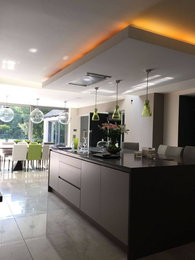 Kitchen Ideas Remodeling Layout Ceilings New Lowered Ceiling Over Kitchen Island By Annabelle Tu Kitchen Ceiling Design Modern Kitchen Lighting Kitchen Ceiling