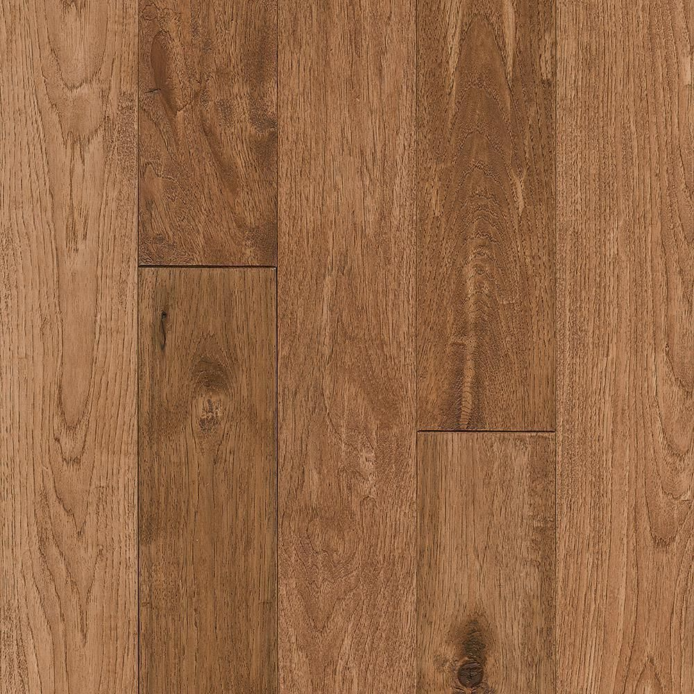 Revolutionary Rustics Take Home Sample Hickory Sculpted Rich Doeskin Solid Hardwood Flooring 5 In X 7 In Br 259470 In 2020 Hardwood Floors Hardwood Hardwood Floor Colors