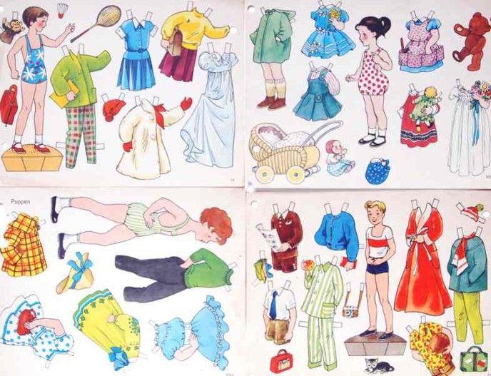 Puppen Schminken Und Anziehen