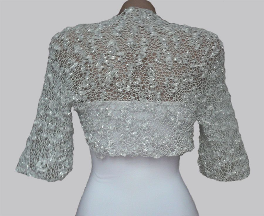 White Wedding Shrug-White Wedding Bolero-White Bridal