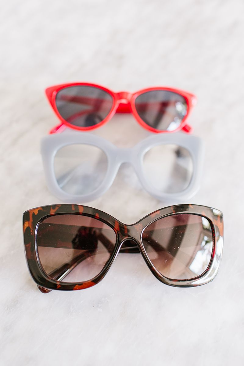 9ce12b3b3 LC Lauren Conrad Kaia 43mm Midsize Wayfarer Gradient Sunglasses ...