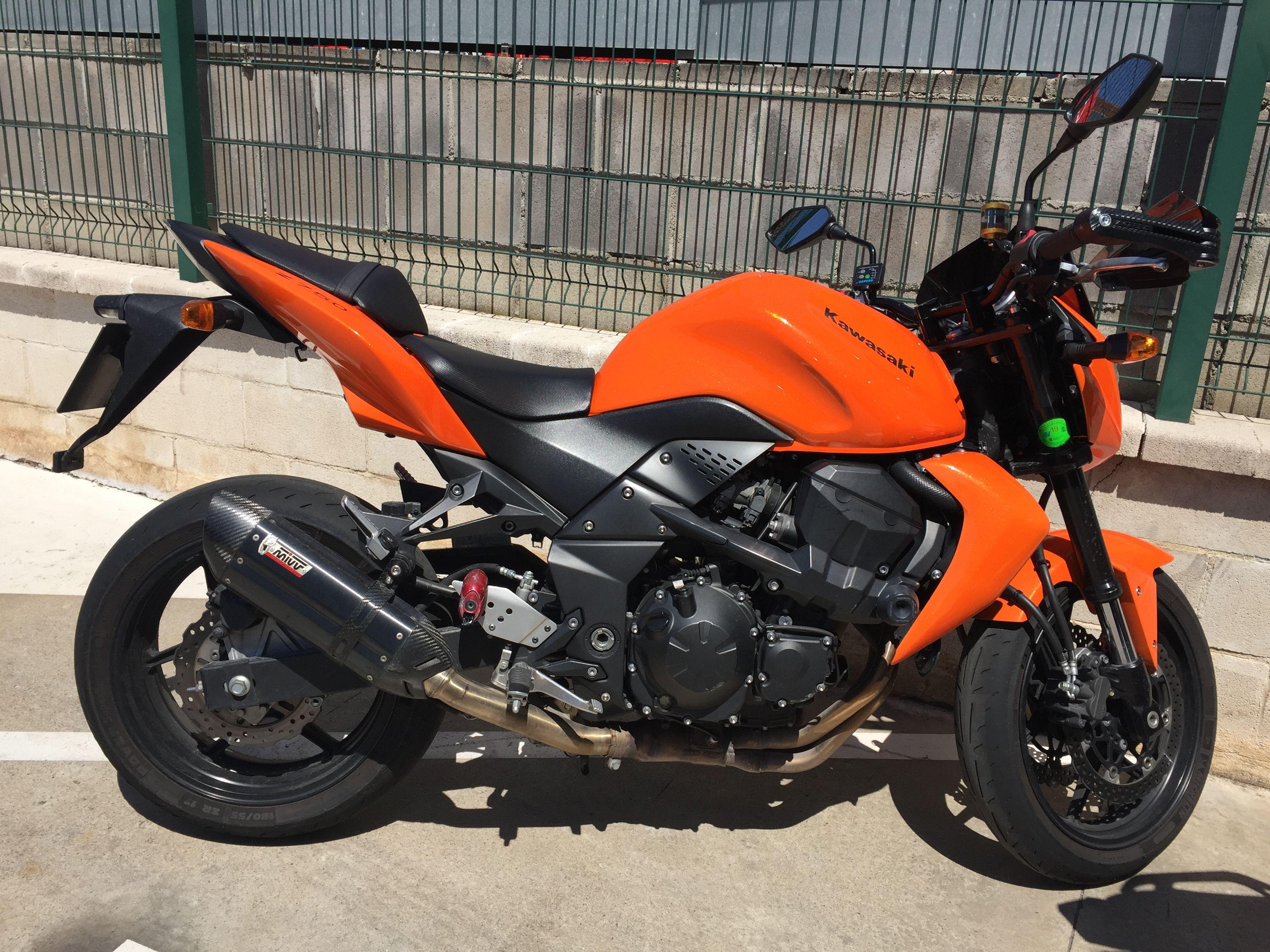 Kawasaki Z750 Mivv Suono Black By Oval Pistons