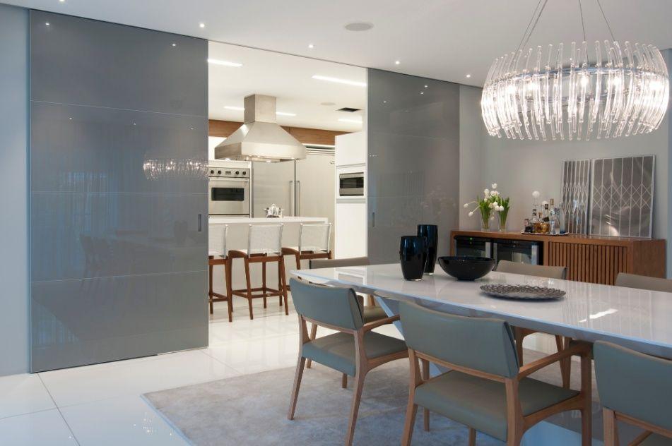 Sala De Jantar Usada Sp ~ porta de vidro (Cinex) separa a cozinha principal (22 m²), usada no