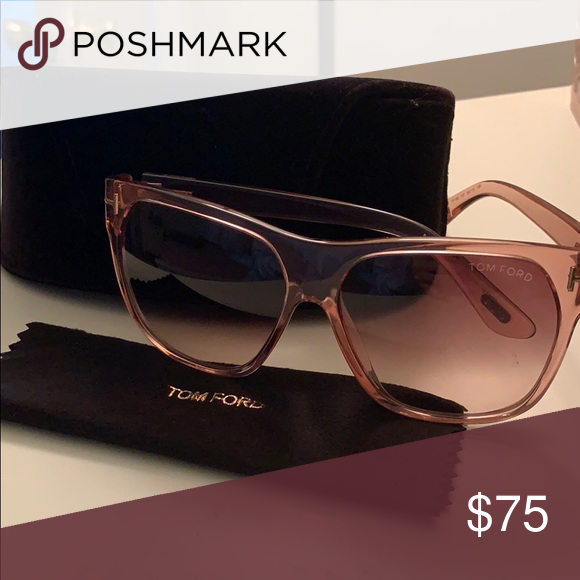 e7fb96d18b Tom Ford Federico Sunglasses Ombré frame with gradient lenses. Comes with  protective case and cleaning
