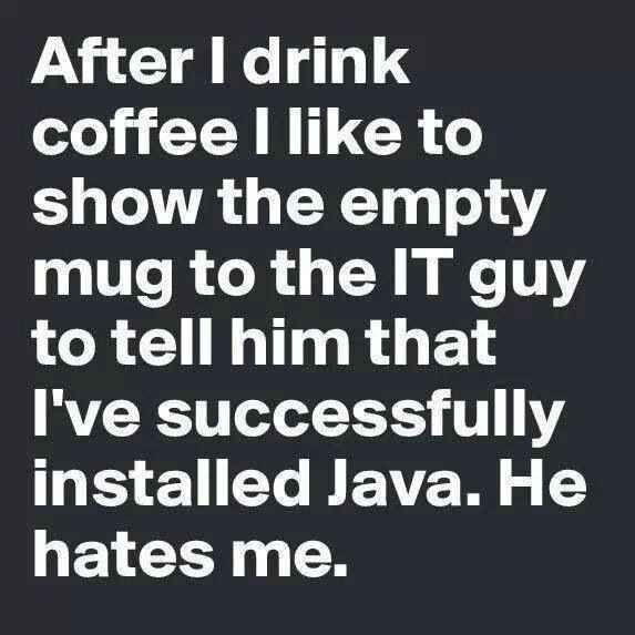 With it, your jokes are HILARIOUS. | 33 Signs That Your Coffee Addiction Is Too Real