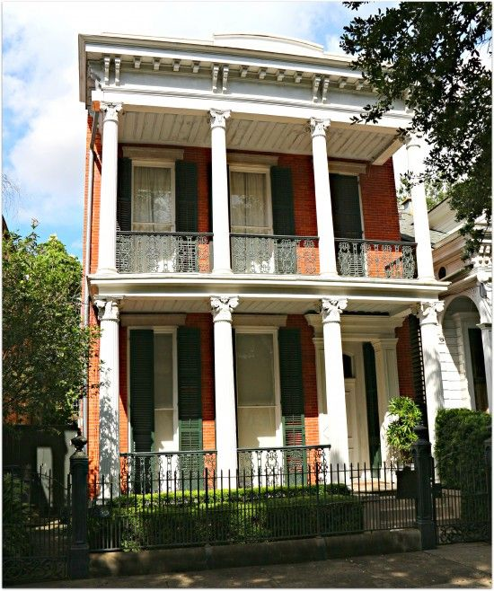 House On Coliseum Square, Lower Garden District, New