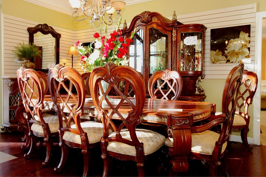 dining room sets las vegas | Gorgeous dining table & chairs - Colleen's Classic ...