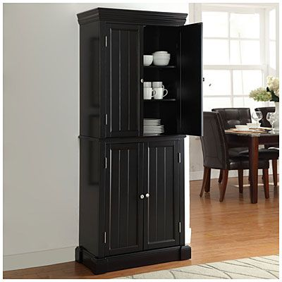 Beadboard 4 door pantry at big lots love this but for Ikea accent cabinet