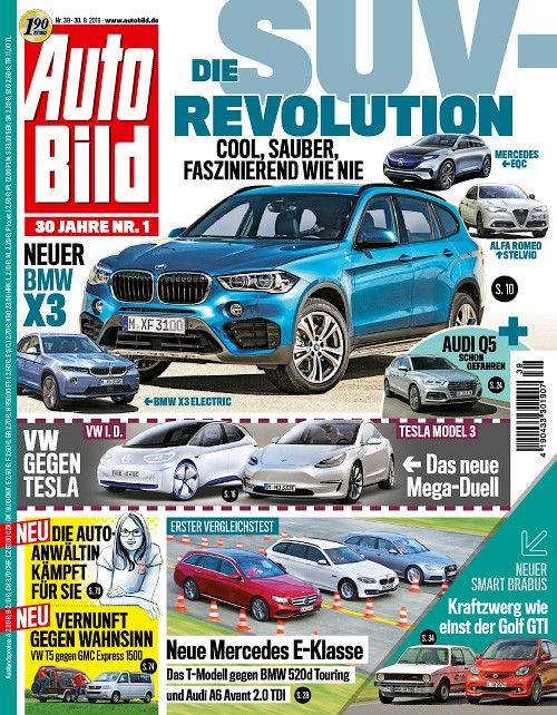Auto Bild Germany - 30 September 2016
