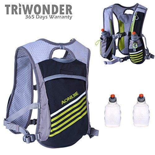 TRIWONDER Hydration Pack Backpack Professional 8L Outdoors Mochilas Trail Marathoner Running Race Cycling Hydration Vest