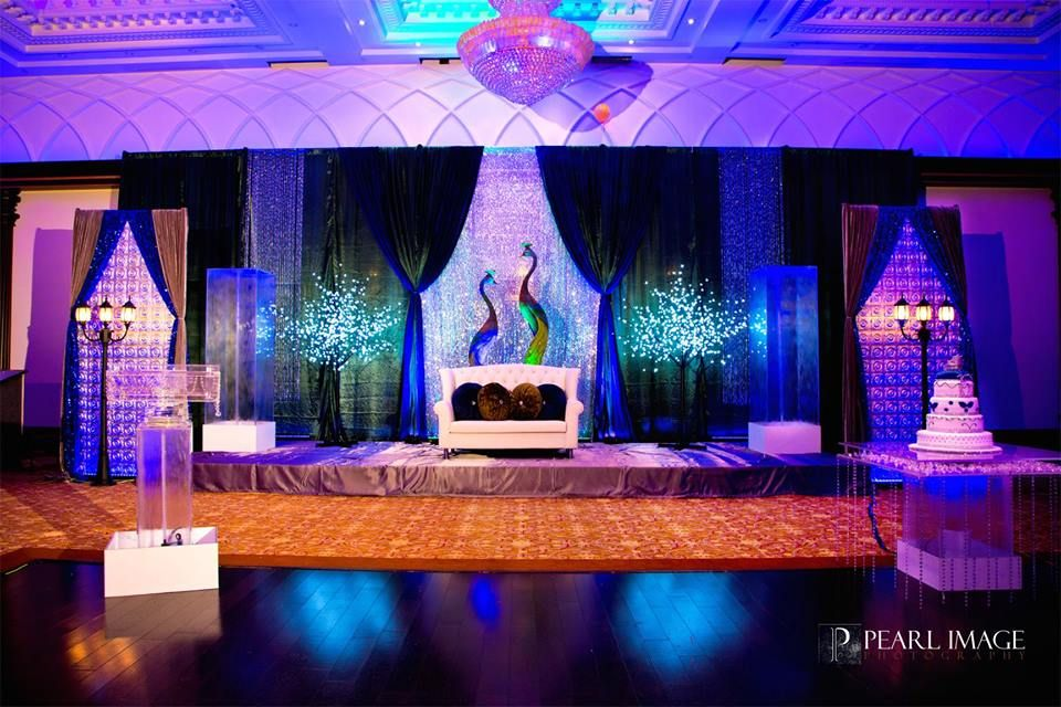 Peacock Theme Sangeet Decor Archives Indian Wedding Blog