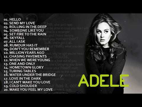 Adele Top Hits 2017 Adele Love Songs Adele Greatest Hits Cover