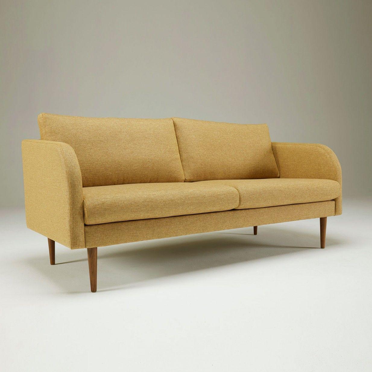 Hugo 3 Sitzer Kragelund Interieur Sofa S