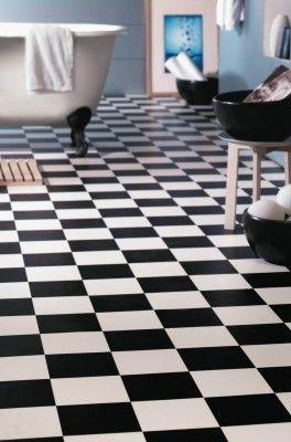Schon Bodenbelag Schwarz Weiss Kariert Home Style Pinterest