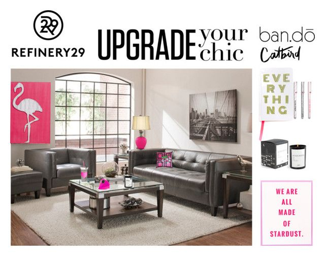 Upgrade Your Chic: Home Edition by saifai on Polyvore featuring polyvore interior interiors interior design home home decor interior decorating Mariska Meijers ban.do Refinery29 bando Catbird upgradeyourchic
