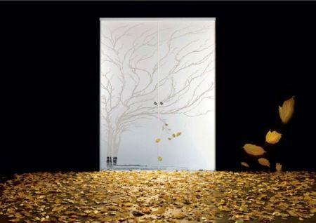 Puertas de cristal decorativas de casali decorahoy for Puertas decorativas para interiores