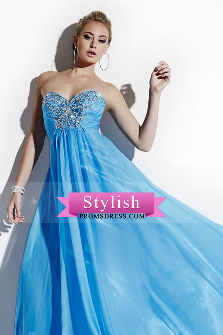 Black Floor Length Chiffon Sheath Prom Dress Showcasing