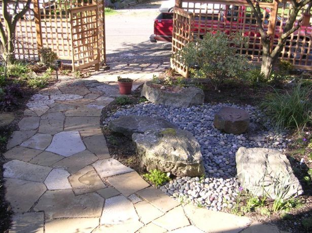 Exterior how to lay stones in yard how to level flagstone how thick exterior how to lay stones in yard how to level flagstone how thick is flagstone laying workwithnaturefo