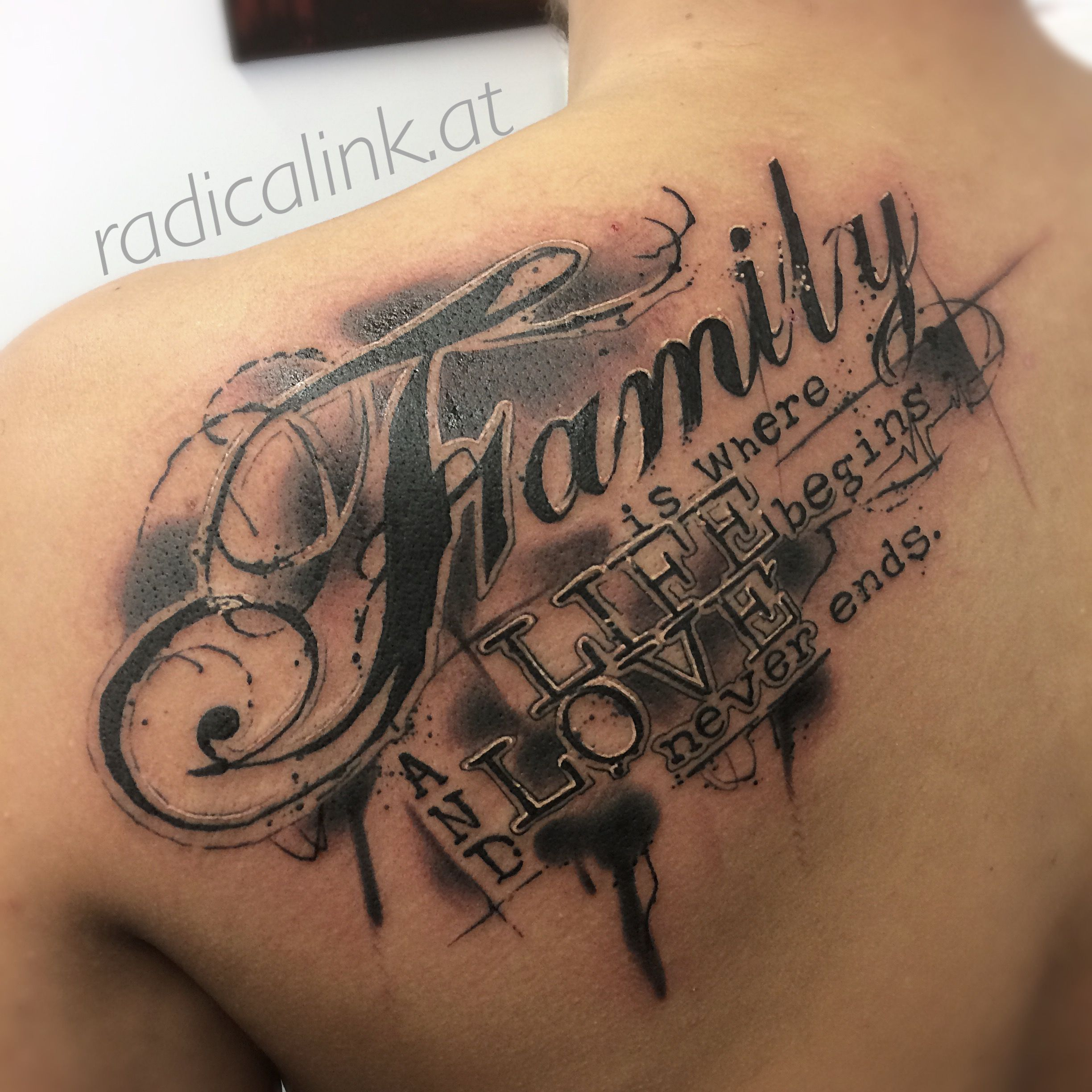 strokestylelettering Family tattoos, Tattoos, Writing