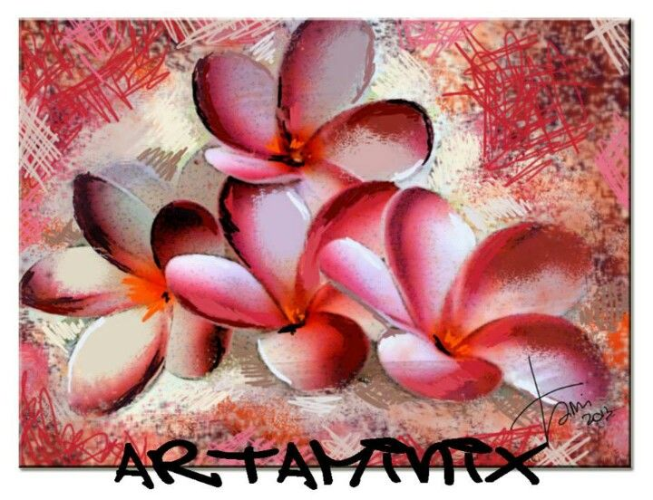 Frangipane #flower #fiori #natura #love #art #handmade #artaminix #rosa #Pink
