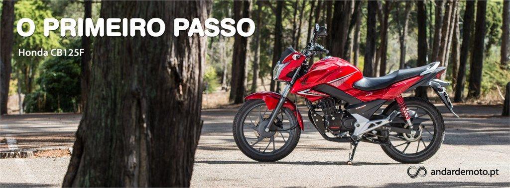 Honda CB125F - O primeiro passo - Test drives - Andar de Moto