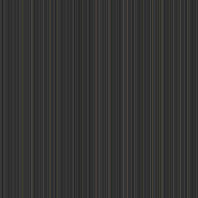 Black Dark Grey Sa9223 Two Color Stripe Wallpaper By York - Black Dark Grey Sa9223 Two Color Stripe Wallpaper By York