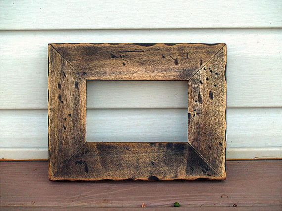 How to Make Picture Frames From Old Barn Wood | Barn wood, Barn and ...