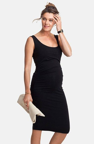 227ade90064 Free shipping and returns on Isabella Oliver  Ellis  Side Ruched Maternity  Tank Dress at Nordstrom.com. Gently ruched side seams flatter your figure  in a ...