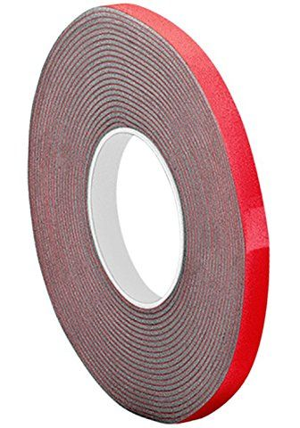 3m Vhb Tape 5952 0 25 In Width X 5 Yd Length Vhb Tape Double Sided Foam Tape Mounting Tape