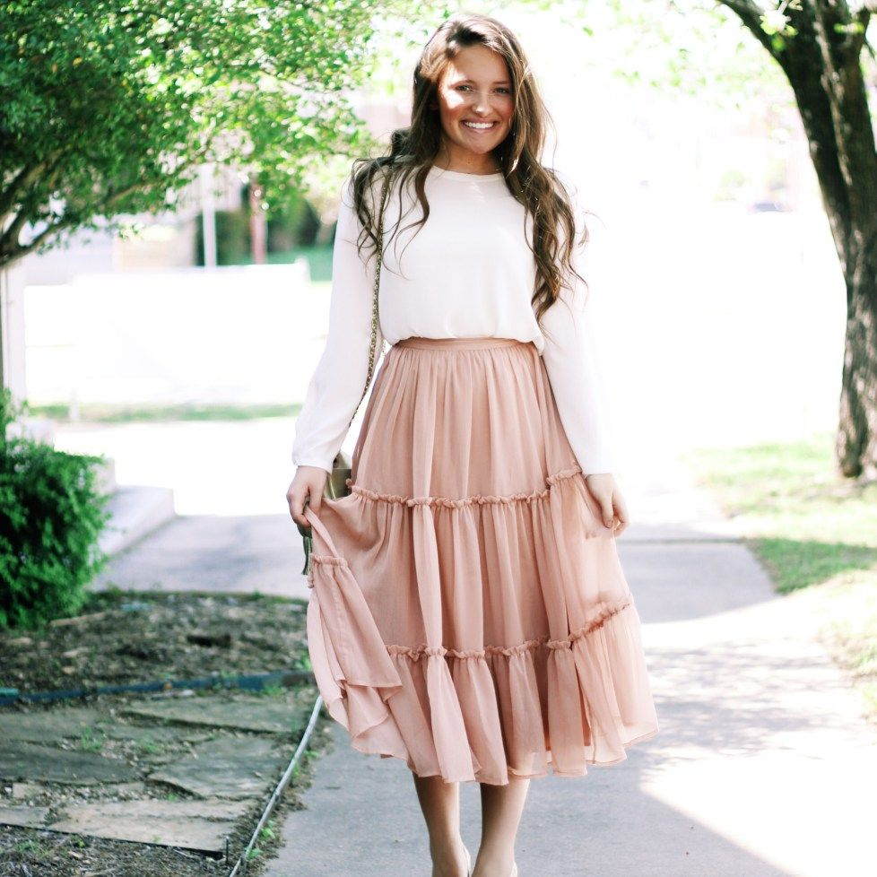 Blush and Lace | Spring Clothes and Modest fashion