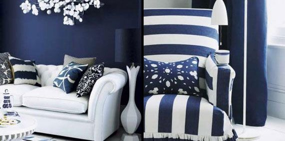 blue and white furniture. tags - tochinawest