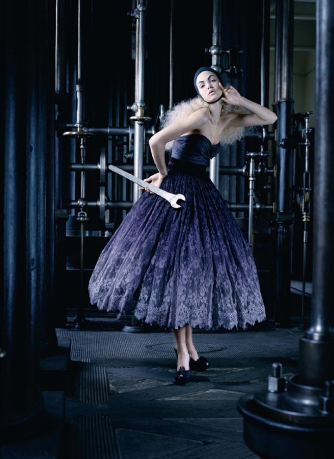 Photographed by Kayt Jones for Harper's Bazaar UK December 2008