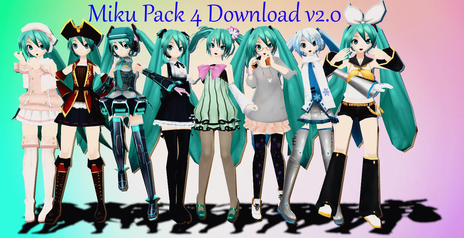 Miku Pack 4 Descargar V 2 0 Por Alexisdeadddx Miku Vocaloid Deviantart