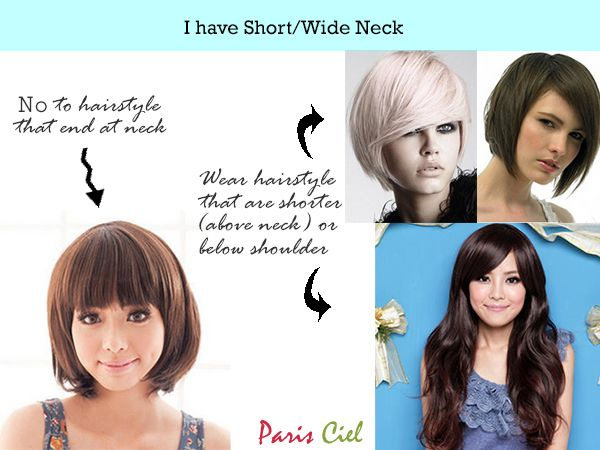 Pin By L On Me Being Stylish Short Neck Long Hair Styles Girl Tips